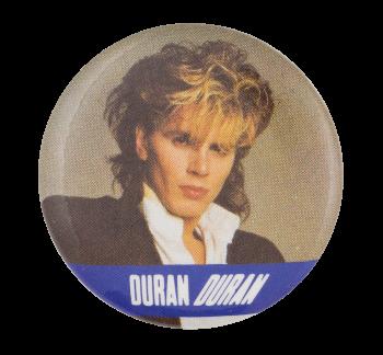 John Taylor Duran Duran One Music Button Museum