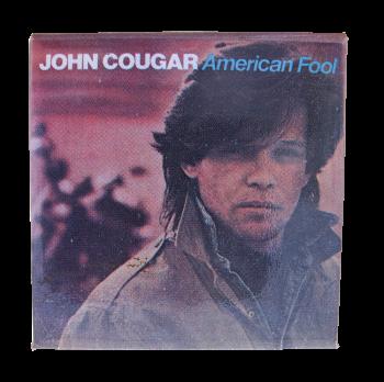 John Cougar American Fool Music Button Museum