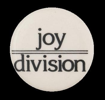 Joy Division Music Button Museum