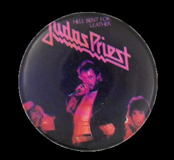 Judas Priest Hell Bent Music Button Museum