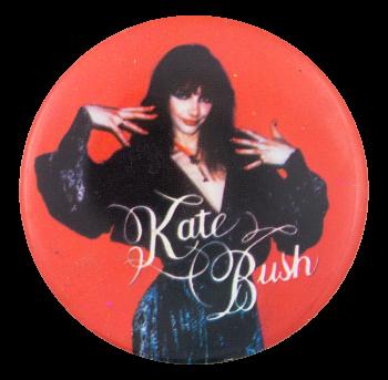 Kate Bush Music Button Museum