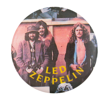 Led Zeppelin BBC Sessions Music Button Museum