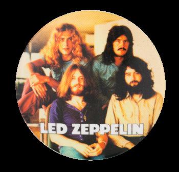 Led Zeppelin Music Button Museum