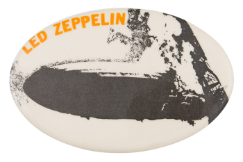Led Zeppelin Debut Album Music Button Museum