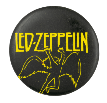 Led Zeppelin Swan Song Music Button Museum