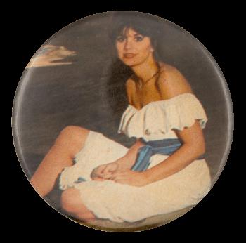 Linda Ronstadt Portrait Music Button Museum