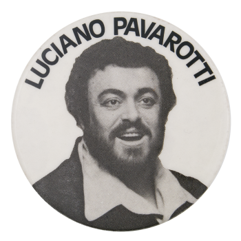 Luciano Pavarotti Music Button Museum
