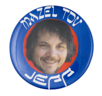 Mazel Tov Jeff Music Button Museum