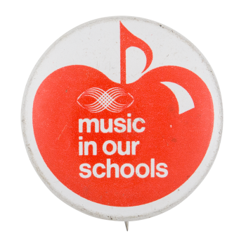 Music In Our Schools Cause Button Museum