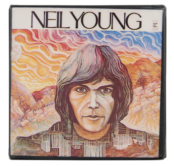 Neil Young Album Music Button Museum