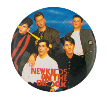 New Kids On The Block Music Button Museum