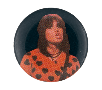 Pat Benatar Hearts Music Button Museum