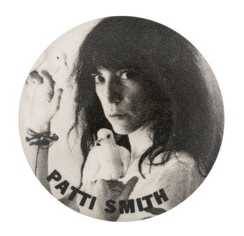 Patti Smith Wave Music Button Museum