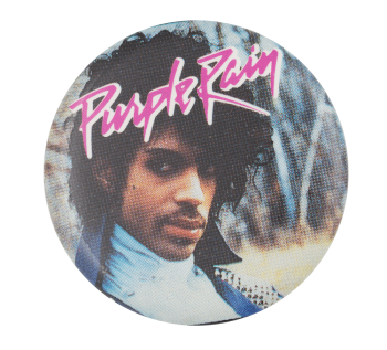 Prince Purple Rain Two Music Button Museum