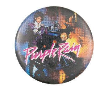 Prince Purple Rain Music Button Museum