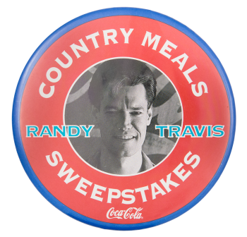 Randy Travis Music Button Museum