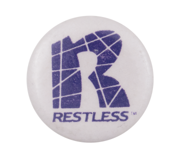 Restless Records Music Button Museum