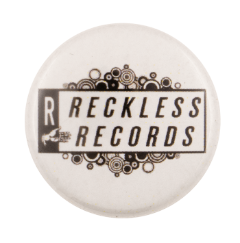 Restless Records White Music Busy Beaver Button Museum
