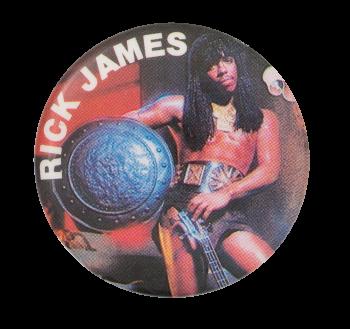 Rick James Music Button Museum