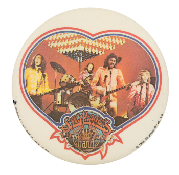Sgt. Pepper's Lonely Hearts Club Band Bee Gees Music Button Museum