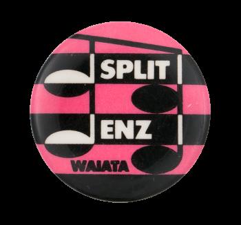 Split Enz Waiata Pink Music Button Museum