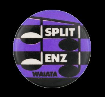 Split Enz Waiata Purple Music Button Museum