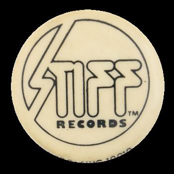 Stiff Records Music Button Museum