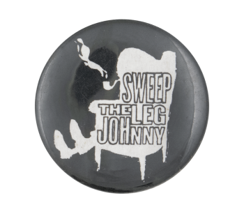 Sweep the Leg Johnny Music Button Museum