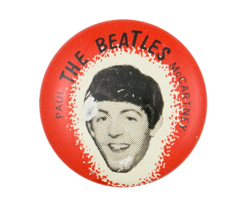The Beatles Paul McCartney Music Button Museum