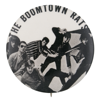 The Boomtown Rats Music Button Museum