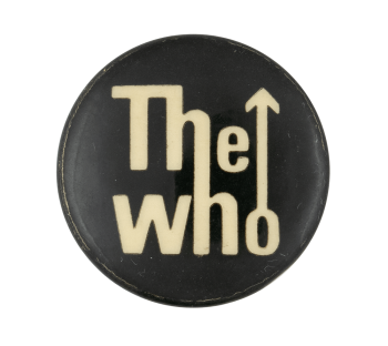 The Who Black and White Music Button Museum