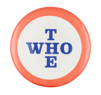 The Who Red White and Blue Music Button Museum
