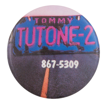 Tommy Tutone Music Button Museum