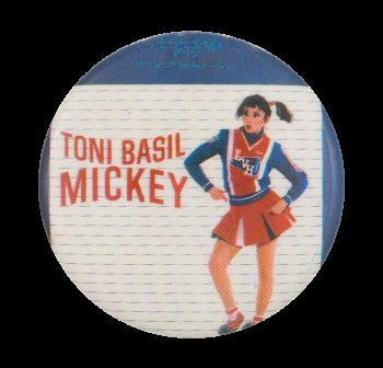 Toni Basil Mickey Music Button Museum