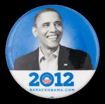 2012 Barack Obama Political Button Museum