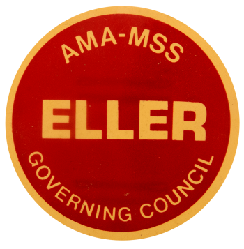 AMA-MSS Eller Governing Council Political Busy Beaver Button Museum