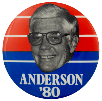 Anderson 80 Political Busy Beaver Button Museum