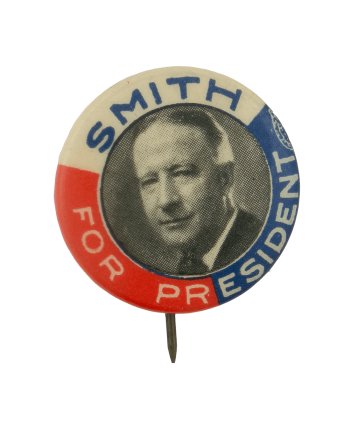 Smith for President Political Busy Beaver Button Museum