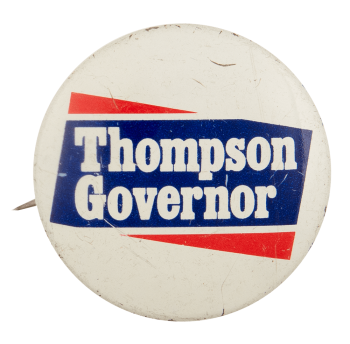 Thompson Governor Political Busy Beaver Button Museum