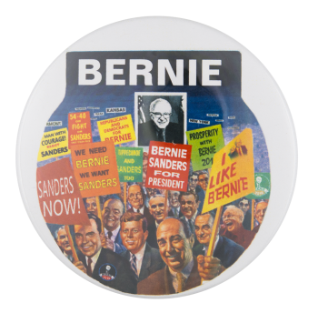 Bernie for President Political Button Museum