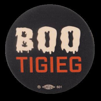 Bootigieg Spooky Political Busy Beaver Button Museum