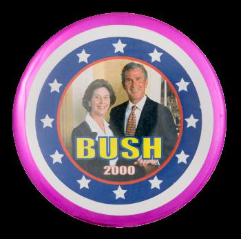 Bush 2000 Political Button Museum