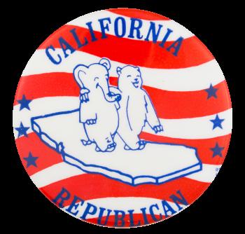 California Republican Political Button Museum
