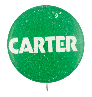 Carter green Political Button Museum