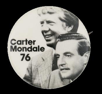 Carter Mondale 76 Portraits Political Button Museum
