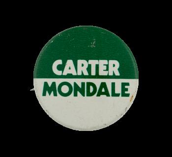 Carter Mondale Political Busy Beaver Button Museum