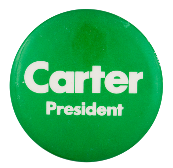 Carter President Political Button Museum