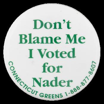 Connecticut Greens Political Button Museum