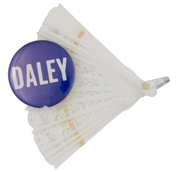 Daley Fan Chicago Button Museum