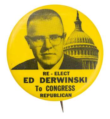 Derwinski to Congress Political Button Museum